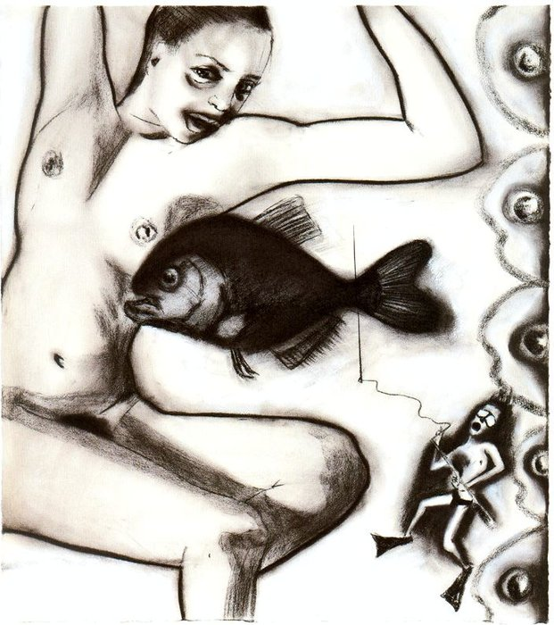 Untitled (988) di Francesco Clemente