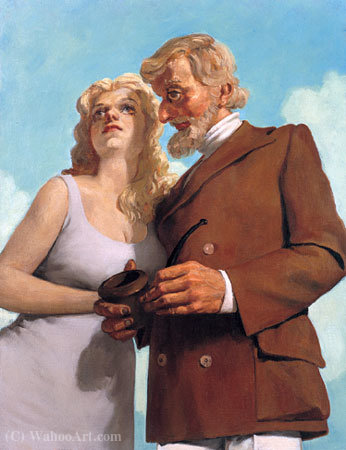 LoversInTheCountry (1993) di John Currin