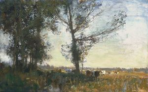 Edward Seago - Thurne palude, estate