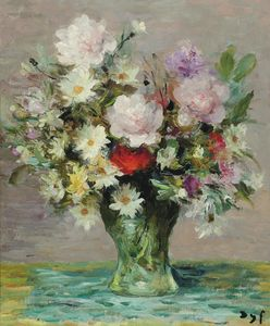 Marcel Dyf - Rose e Papavers, (1970)