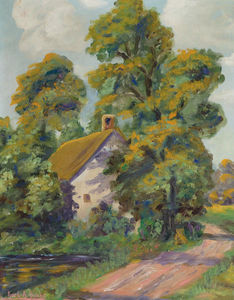 Karl Albert Buehr - Cottage dalla Road