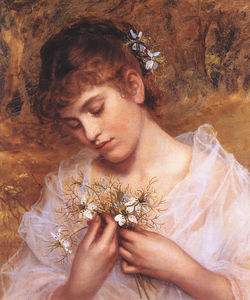 Sophie Gengembre Anderson - L amore in una nebbia