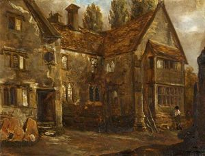 Alfred Provis - North Front di Easton Piercy Manor House, Wiltshire