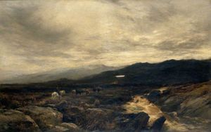 Alfred Walter Williams - Sulle Fells Cumberland