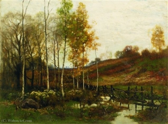 Betulle Autunno di Charles Harry Eaton (1850-1901)