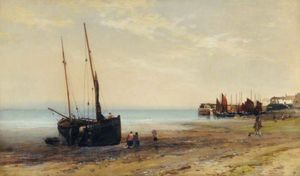 Edmund Morison Wimperis - Studio Seascape