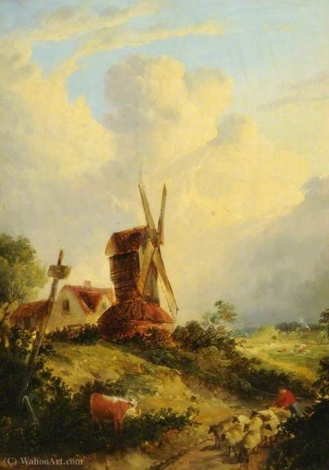 Un mulino norfolk di George Vincent (1796-1831, United Kingdom)