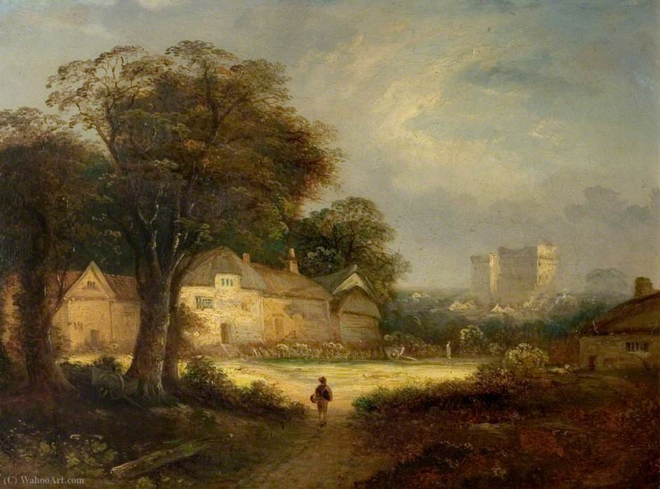 Castle Ashby, Northamptonshire di George Vincent (1796-1831, United Kingdom)