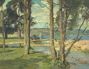 Harry Watson - The Edge of Loch Rannoch