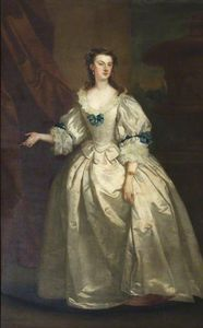 Ordinare Copia Pittura : L onorevole Mary Howard (1710 1740), la signora George Venables-Vernon di John Vanderbank (1694-1739, United Kingdom) | WahooArt.com