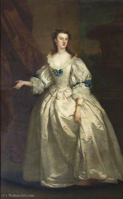 L onorevole Mary Howard (1710 1740), la signora George Venables-Vernon di John Vanderbank (1694-1739, United Kingdom)