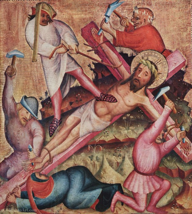 Passione, sinistra di Master Bertram (1345-1415, Germany)