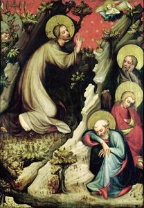 Master Of The Trebon Altarpiece - Orazione nell orto