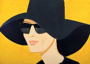Alex Katz - Nero cappello
