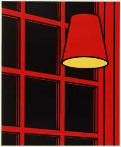 Patrick Caulfield - interni Notte