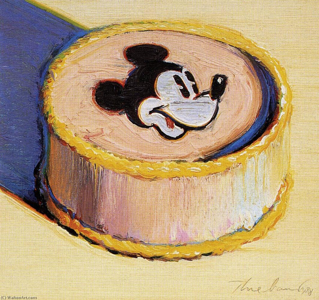giallo topolino sorcio Torta di Wayne Thiebaud