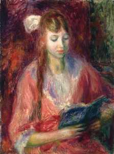 William James Glackens - Julia Lettura