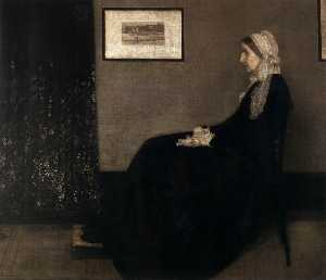 James Abbott Mcneill Whistler - madre dell artista