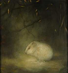 Jan Mankes - marmotta come  autunno