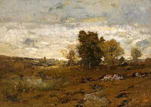 Alexander Helwig Wyant - Autunno a arkville