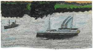 Alfred Wallis - vapore in barca