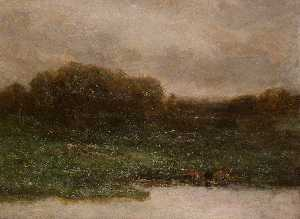 Edward Mitchell Bannister - Estate di Twilight