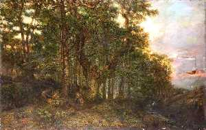 Henry Mark Anthony - Un larice  Bosco