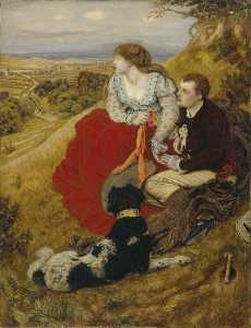 Ford Madox Brown - Byron's Sogno