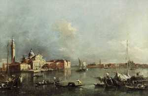 Francesco Lazzaro Guardi - veduta di venezia
