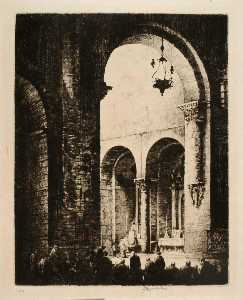 Herman Armour Webster - sant pere de galligans , Gerona