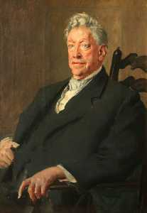 Augustus Edwin John - william hesketh Alzare ( 1851–1925 ) , 1st Visconte Leverhulme , Bt