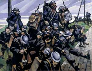 Christopher Richard Wynne Nevinson - Francese truppe  Riposo