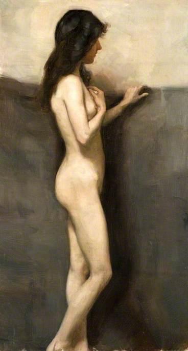 Ordinare Riproduzioni Di Quadri Famosi : in piedi nudo femminile ...