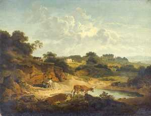 Philip Jacques De Loutherbourg - paesaggio