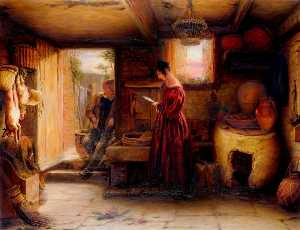 William Mulready The Younger - Un Interno