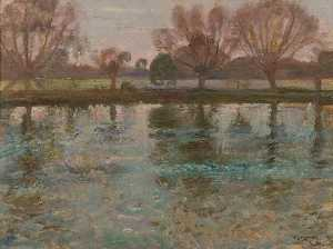 Alfred James Munnings - stour a dedham