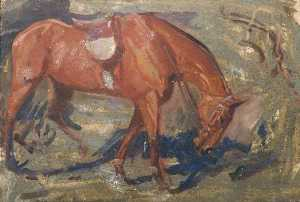 Alfred James Munnings - studio di una cacciatore