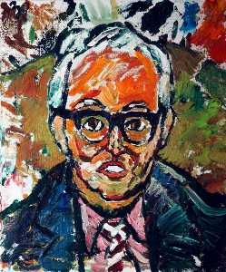 John Randall Bratby - Signore Giovanni Moores ( 1896–1993 )