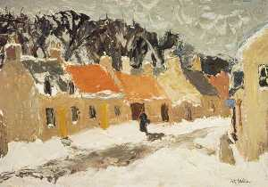 William George Gillies - Tempio Inverno  via