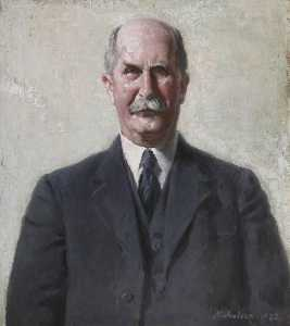 William Newzam Prior Nicholson - Signore William Enrico Bragg ( 1862–1942 )