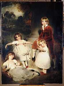 Thomas Lawrence - LES ENFANTS DE GIOVANNI ANGERSTEIN