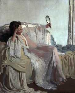William Newenham Montague Orpen - un orientale  abito