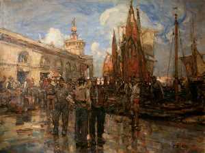 Frank William Brangwyn - Venezia