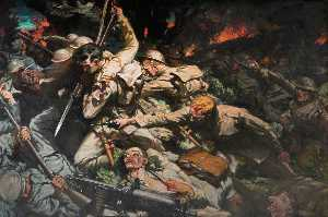 Christopher Williams - il welsh Divisione a mametz Legna , 1916 ( particolare )