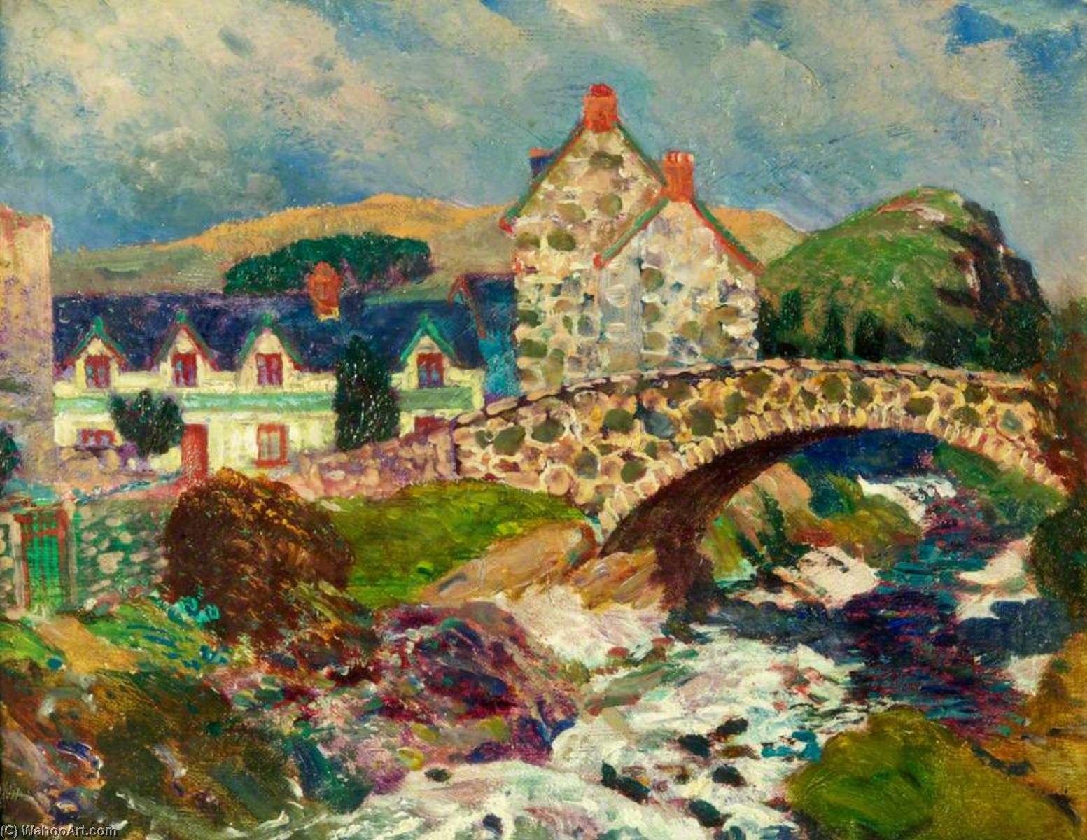 Llwyngwril , vicino a barmouth di Christopher Williams (1873-1934, United States) | Riproduzioni Di Quadri Famosi | WahooArt.com