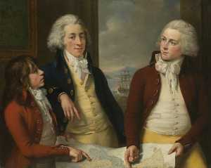 John Francis Rigaud - il denaro Fratelli william taylor ( 1769–1834 ) , James ( 1772–1833 ) , e robert ( 1775–1803 )