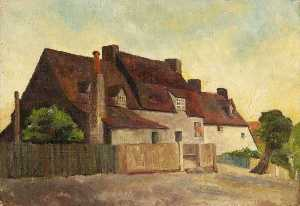 Charles Paget Wade - Il 'Plough' Locanda , mill hill