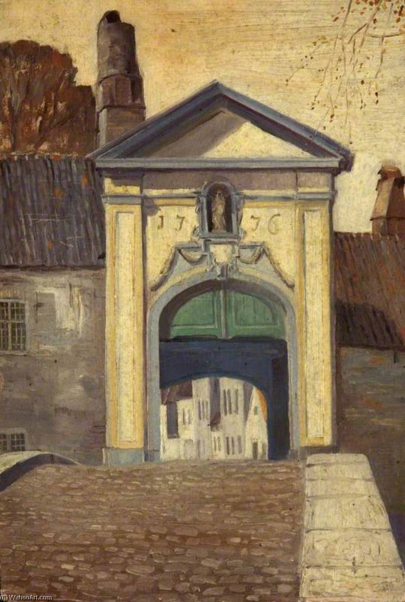 Porta al Beguinage , Bruges di Charles Paget Wade (1883-1956, United Kingdom) | WahooArt.com
