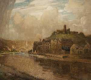 William Hoggatt - Cattedrale di st George's Piattaforma , Lancaster