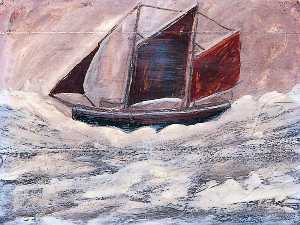 Alfred Wallis - in barca